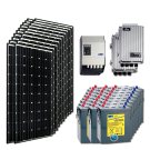 Kit PV résidentiel MAXI MADRID HIGH LIFE (2kWh/m²)