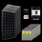 Kit résidentiel MEDIUM MARRAKECH HIGH LIFE+ (4kWh/m²)
