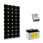 Kit PV BASIC MADRID LOW LIFE (2kWh/m²)