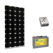 Kit PV BASIC MADRID MEDIUM LIFE (2kWh/m²)