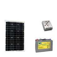Kit PV BASIC MOMBASA MEDIUM LIFE (6kWh/m²)