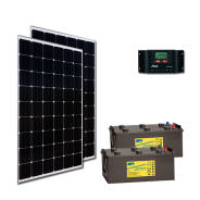 Kit PV ECLAIRAGE ET FRIGO MADRID HIGH LIFE (2kWh/m²)