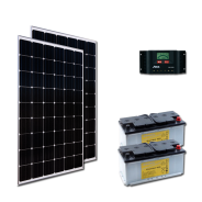 Kit PV ECLAIRAGE ET FRIGO MADRID LOW LIFE (2kWh/m²)