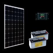 Kit PV ECLAIRAGE ET FRIGO MARRAKECH LOW LIFE (4kWh/m²)