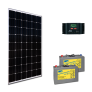 Kit PV ECLAIRAGE ET FRIGO MARRAKECH MEDIUM LIFE (4kWh/m²)