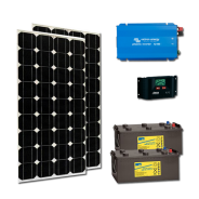 Kit PV MULTIMEDIA PLUS MOMBASA HIGH LIFE (6kWh/m²)