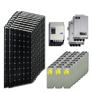 Kit PV résidentiel MAXI MADRID HIGH LIFE+ (2kWh/m²)