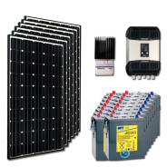 Kit PV résidentiel MEDIUM MOMBASA HIGH LIFE (6kWh/m²)