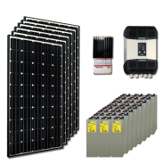 Kit PV résidentiel MEDIUM MOMBASA HIGH LIFE PLUS(6kWh/m²)