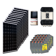 Kit PV résidentiel MINI MARRAKECH HIGH LIFE (4kWh/m²)