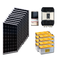 Kit PV résidentiel MINI MARRAKECH LOW LIFE (4kWh/m²)