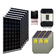 Kit PV résidentiel MINI MOMBASA HIGH LIFE+ (6kWh/m²)