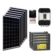 Kit PV résidentiel MINI MOMBASA MEDIUM LIFE (6kWh/m²)