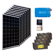 Kit PV résidentiel PICO MADRID HIGH LIFE (2kWh/m²)