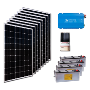 Kit PV résidentiel PICO MADRID LOW LIFE (2kWh/m²)