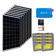 Kit PV résidentiel PICO MADRID MEDIUM LIFE (2kWh/m²)